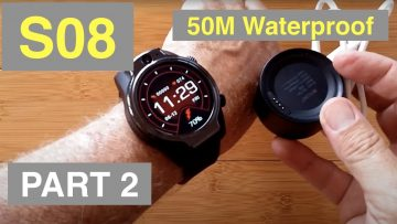"ROLLME S08 1.69"" TFT Screen 1360mAh 8MP Cameras 3G+32G IP68 Waterproof 4G Smartwatch: Full Review"