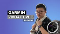 Garmin Vivoactive 3 Element: Classy Sports Smartwatch